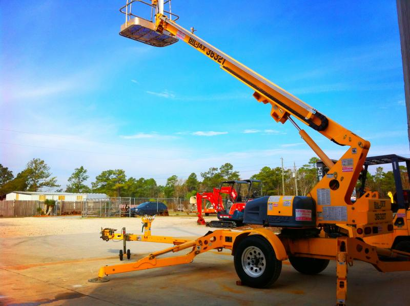 man lift 42' boom tool rental 28445 general rental
